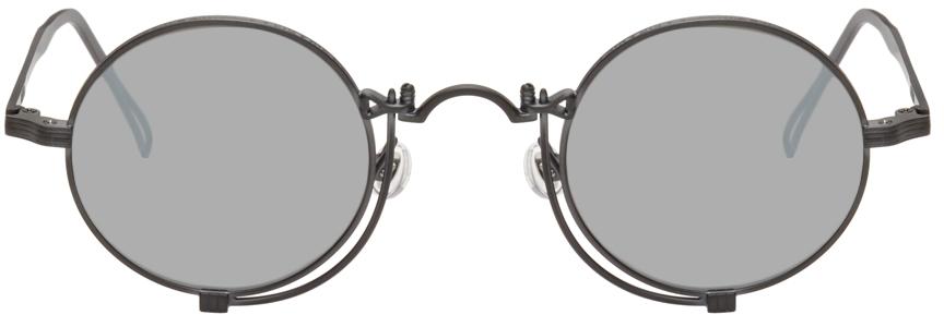 Black & Silver 10601H Sunglasses