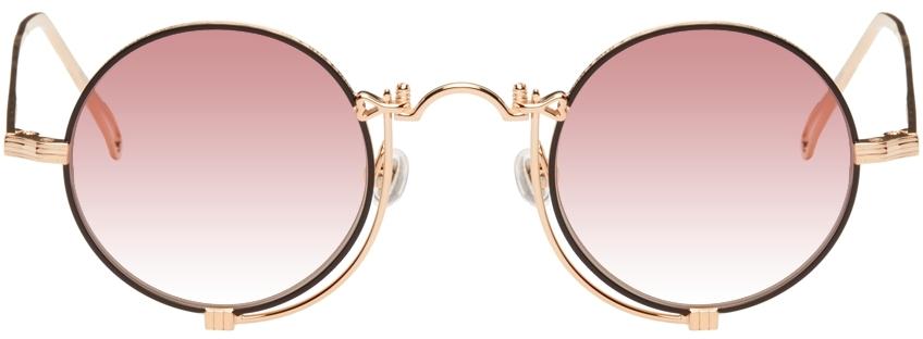 Rose Gold 10601H Sunglasses
