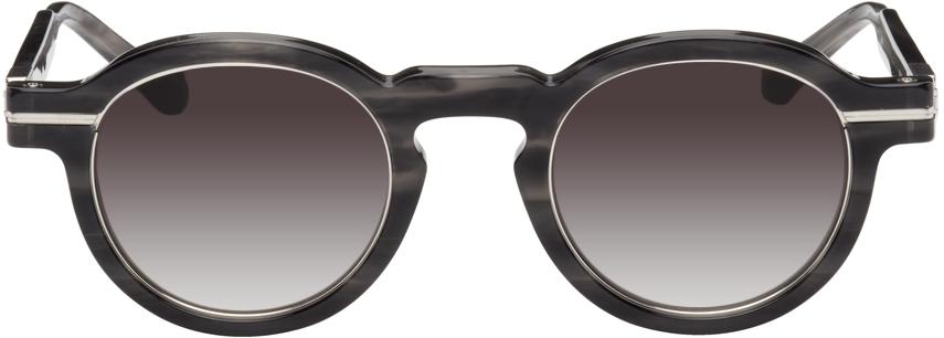 Black Stripe M2050 Sunglasses