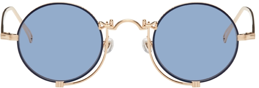 Gold & Navy 10601H Sunglasses
