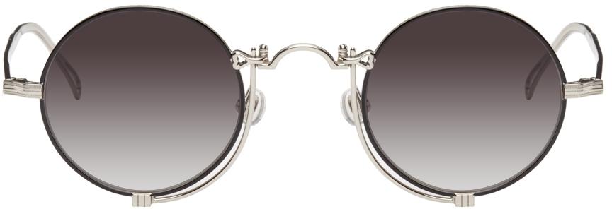 Silver & Black 10601H Sunglasses