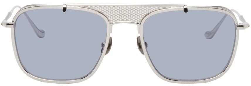 Silver & Blue M3110 Sunglasses