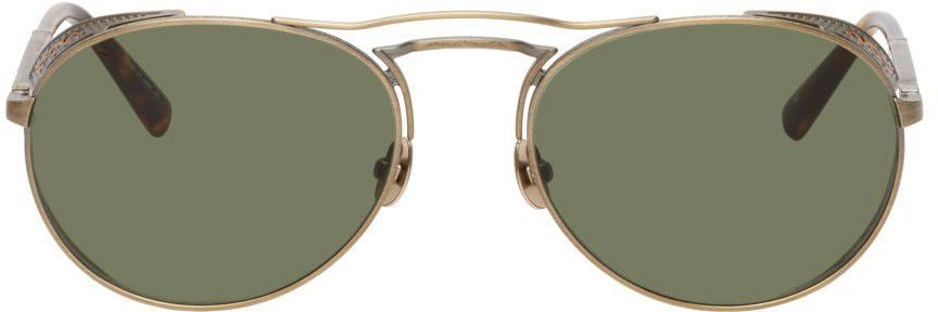 Gold M3098 Sunglasses