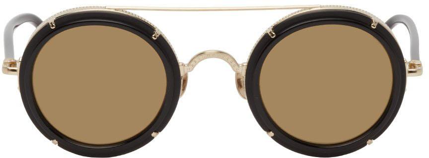 Black & Gold M3080 Sunglasses