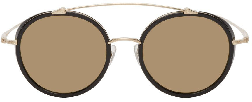 Black & Gold M3044 Sunglasses