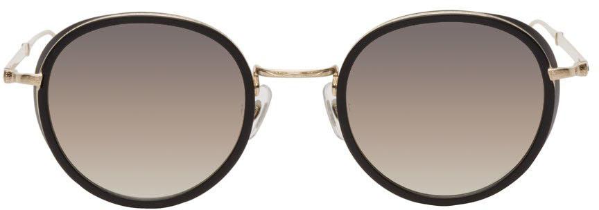 Black & Gold M3063 Sunglasses