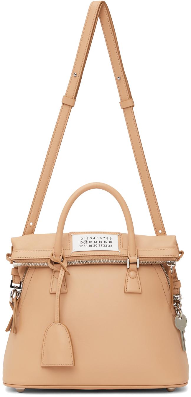 Beige Mini 5AC Duffle Bag