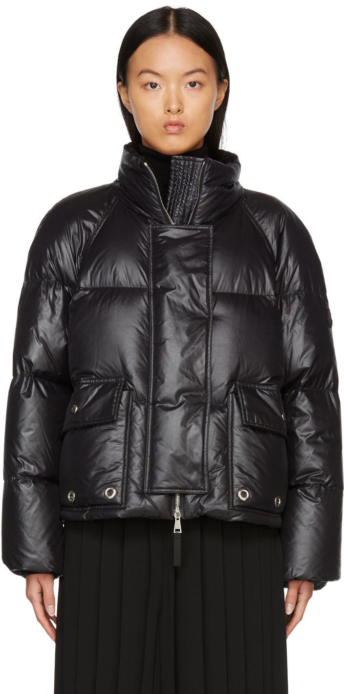 2 Moncler 1952 Black Down Rita Jacket