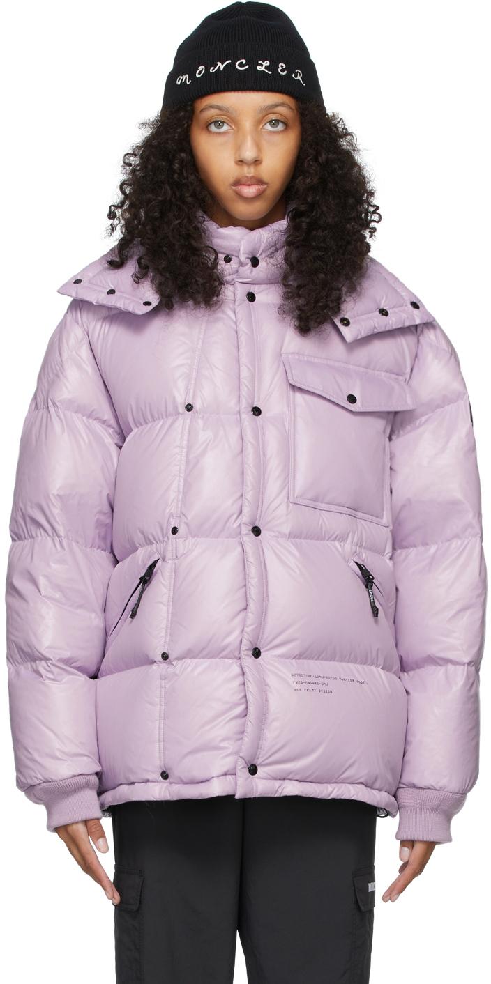 7 Moncler FRGMT Hiroshi Fujiwara Purple Down Anthemyx Jacket