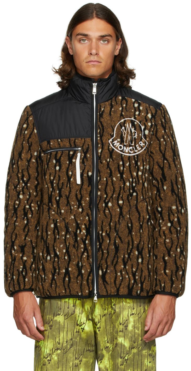 2 Moncler 1952 Reversible Brown & Black Down Inagi Jacket