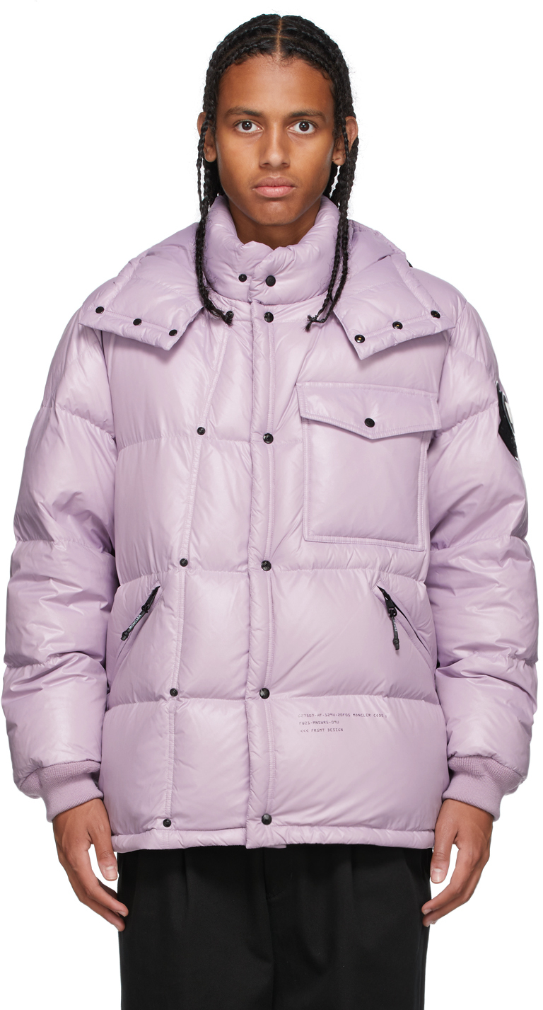 7 Moncler FRGMT Hiroshi Fujiwara Pink Down Anthemyx Jacket