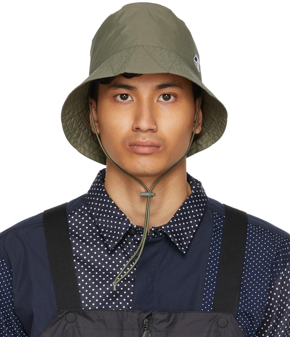 Khaki K-Way Edition Pascalen 3.0 Bucket Hat