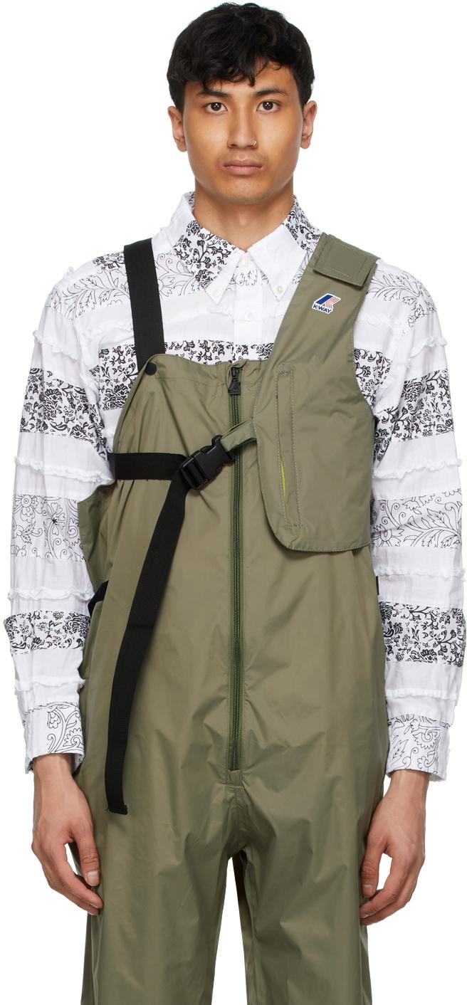 Khaki K-Way Edition Kayden 3.0 Vest Bag