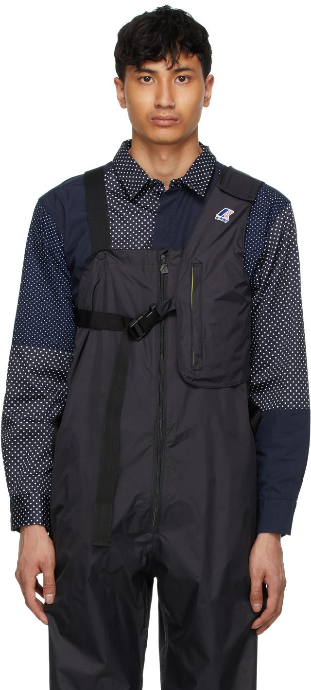 Black K-Way Edition Kayden 3.0 Vest Bag