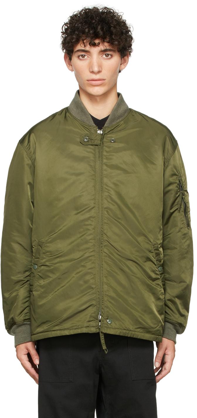 Green Aviator Jacket