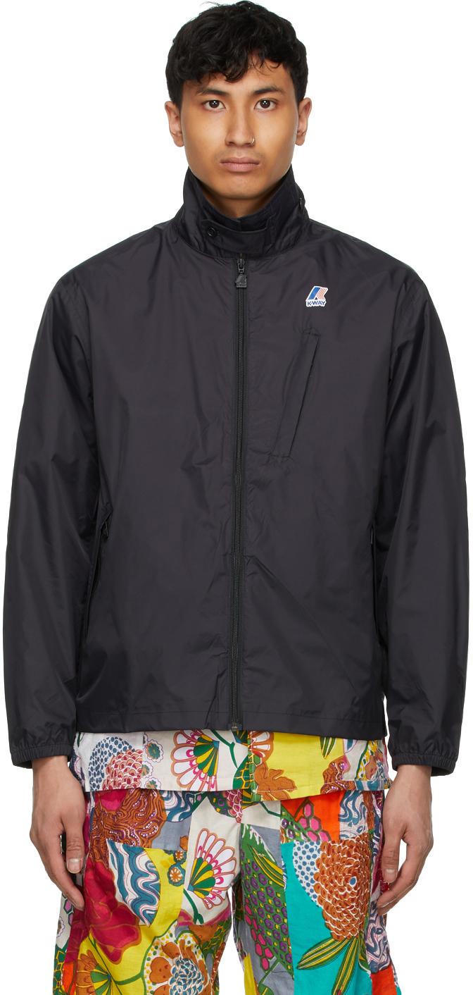 Black K-Way Edition Packable Crepin 3.0 Jacket