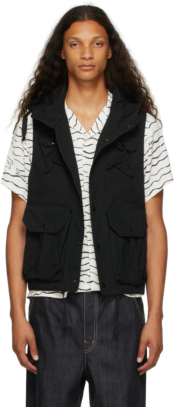Black Ripstop Field Vest