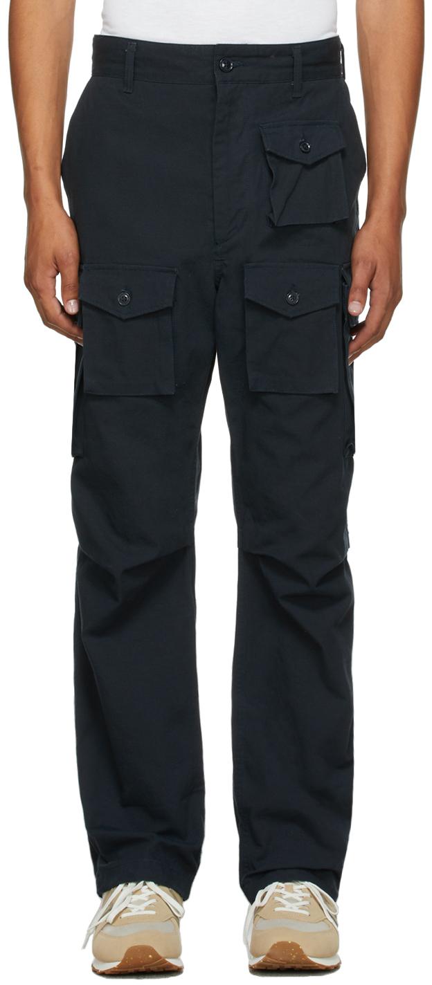 Navy Ripstop FA Cargo Pants
