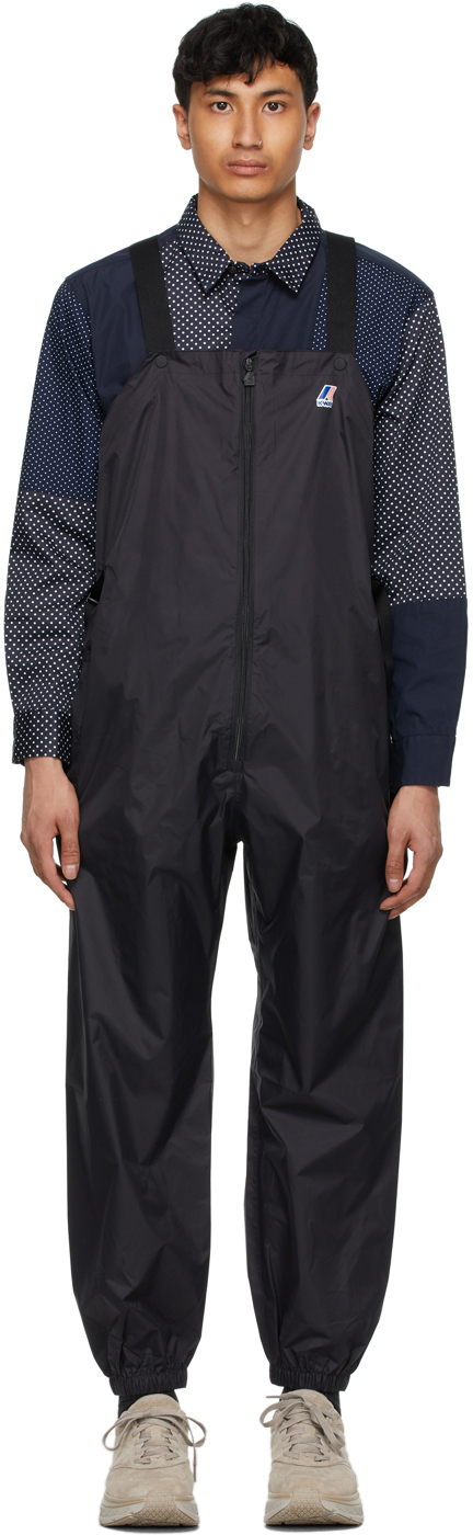 Black K-Way Edition Packable Perry 3.0 Overalls