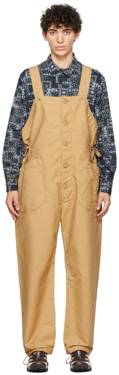 Khaki Cotton Waders Jumpsuit