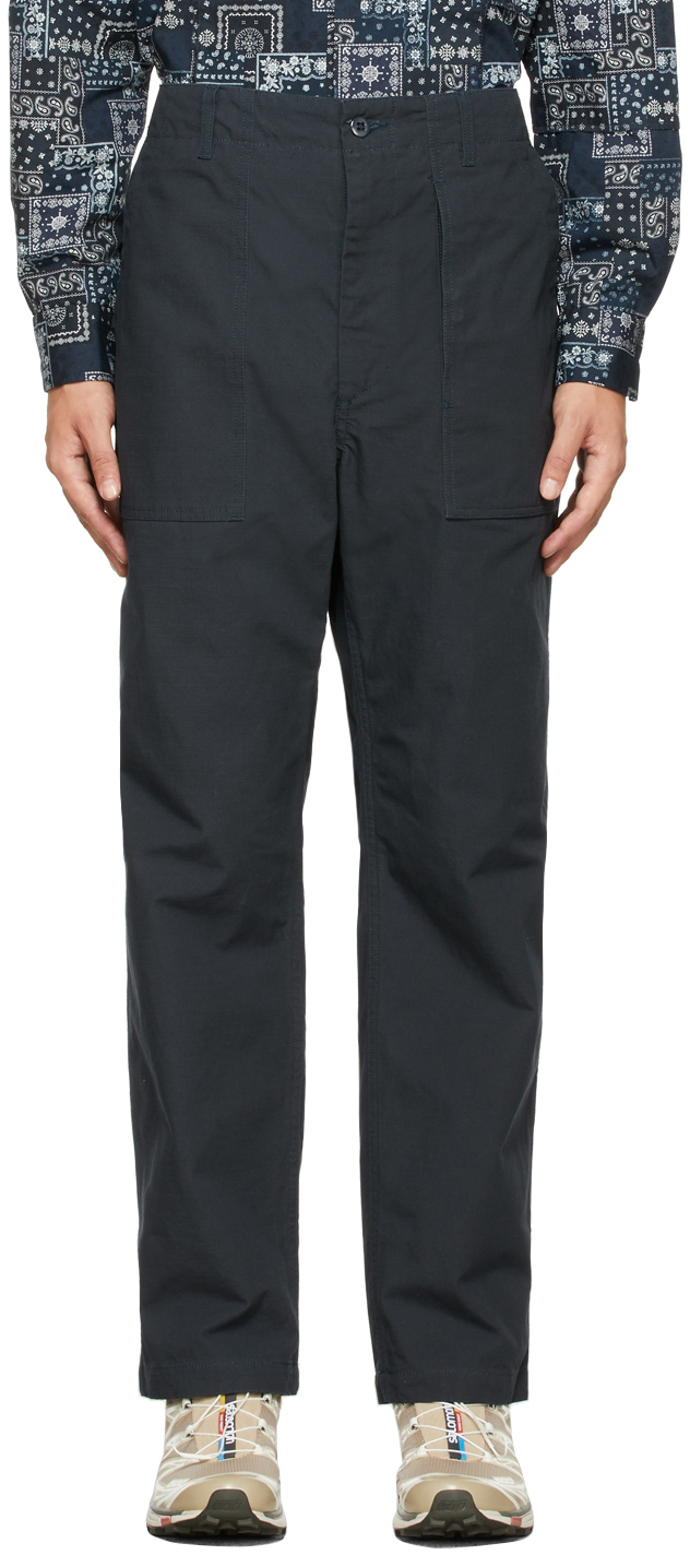 Navy Fatigue Trousers