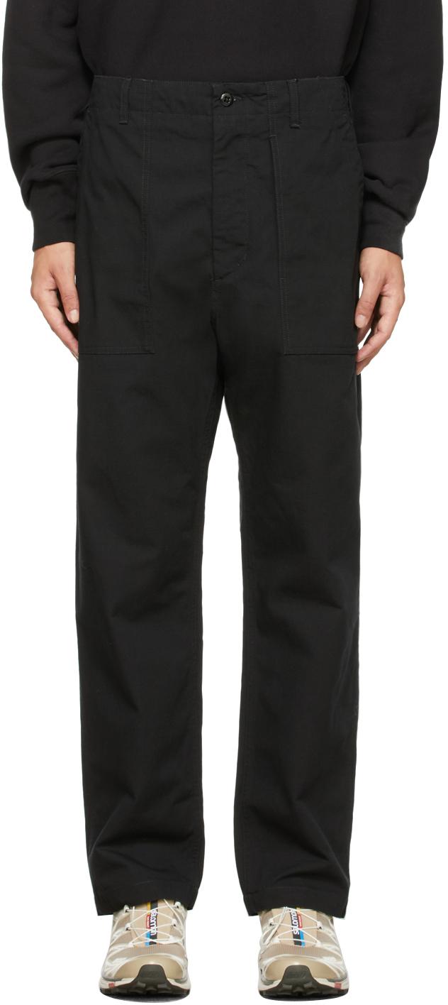 Black Fatigue Trousers