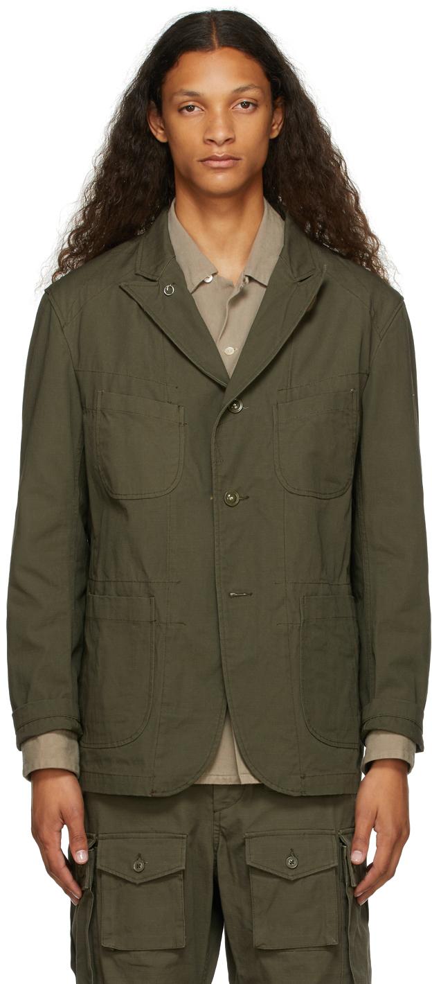 Khaki Ripstop Bedford Jacket