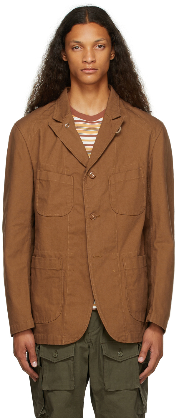 Brown Duck Canvas Jacket