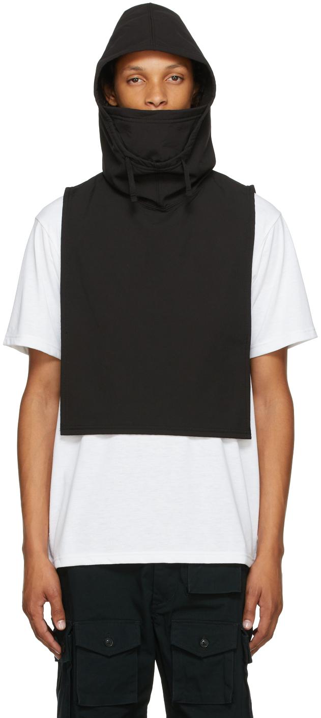 Black Fleece Hooded Vest
