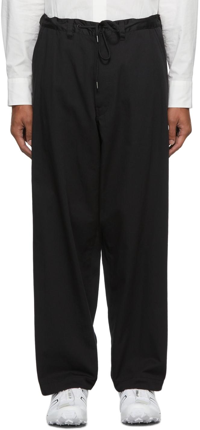 Black Warm Up Laboratory Trousers