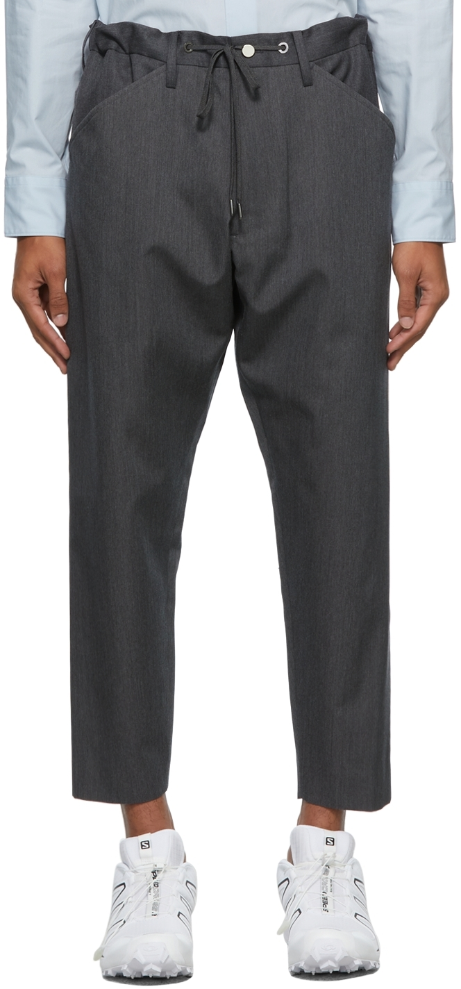 Grey Kurta Trousers