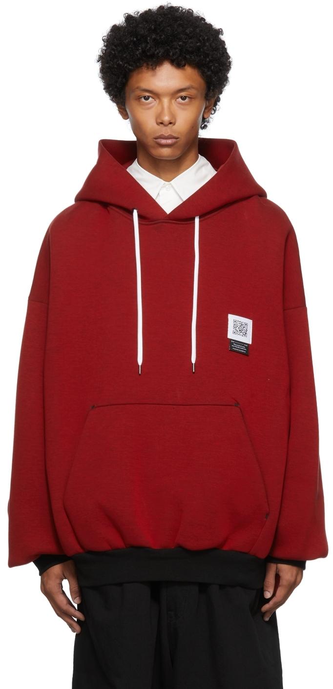 Red Kimono Hoodie