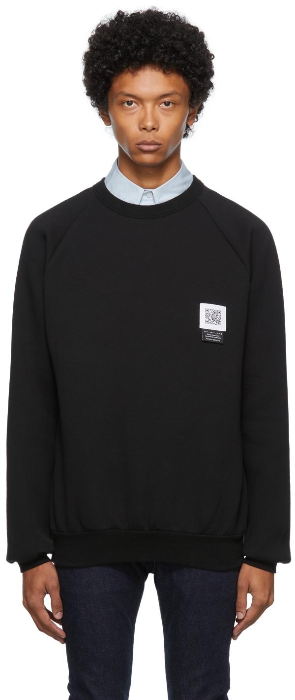 Black Side Zip Sweatshirt