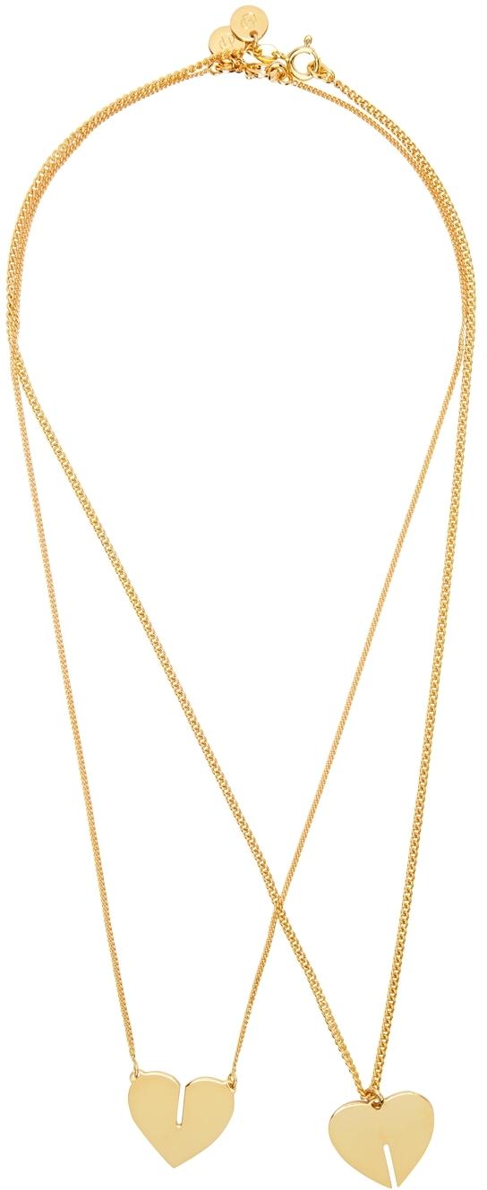 Gold Best Friends Necklace