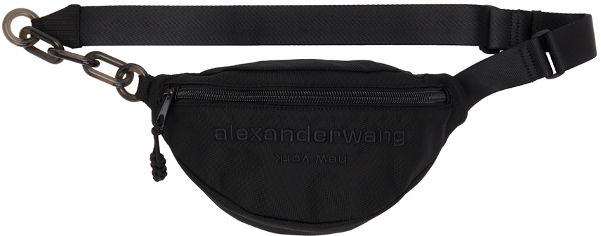 Alexander Wang Black Nylon Primal Fanny Pack