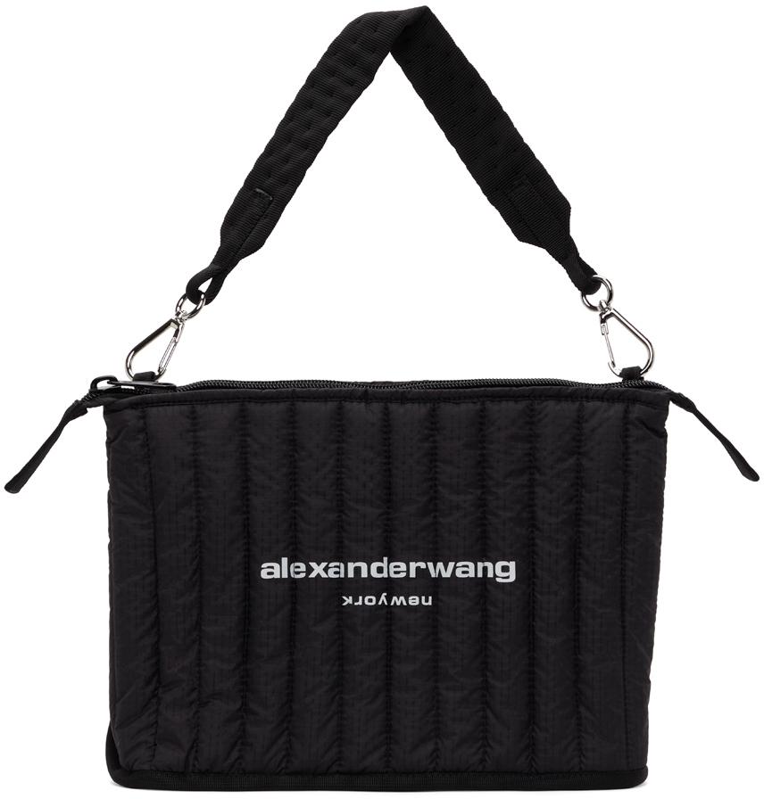 Alexander Wang Black Nylon Elite Laptop Tote
