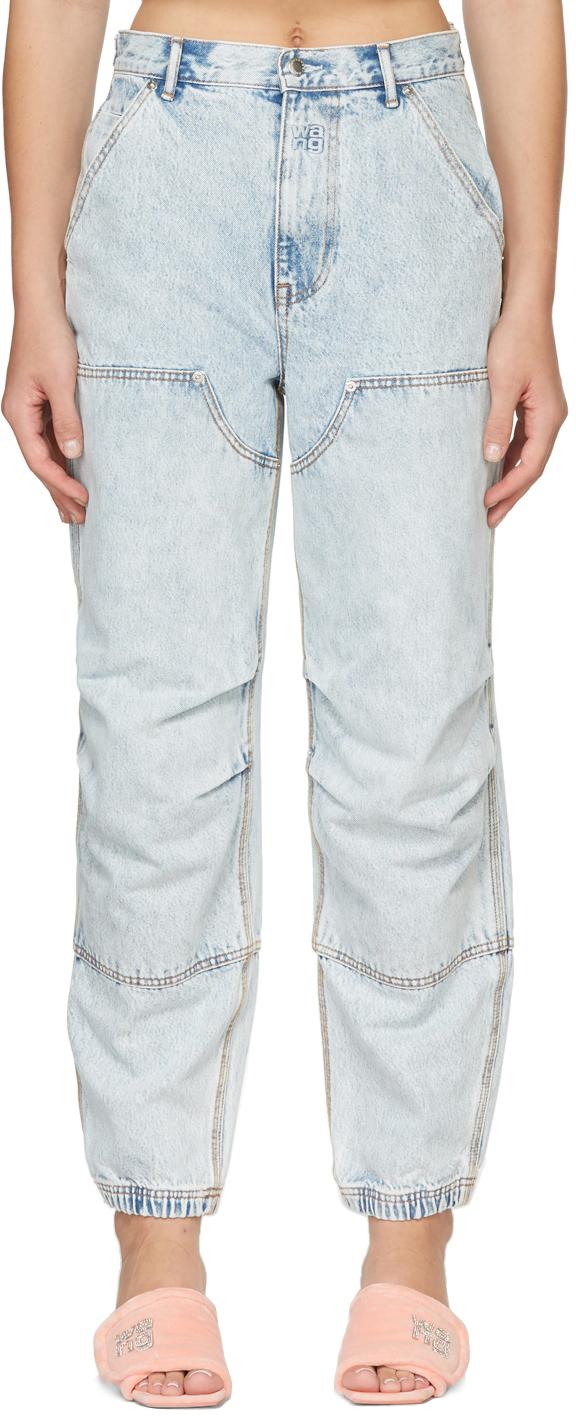 Alexander Wang Double Front Carpenter Jeans