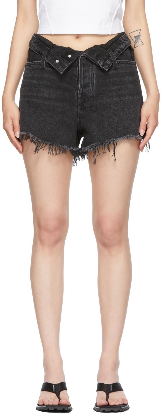 Alexander Wang Grey Bite Flip Shorts