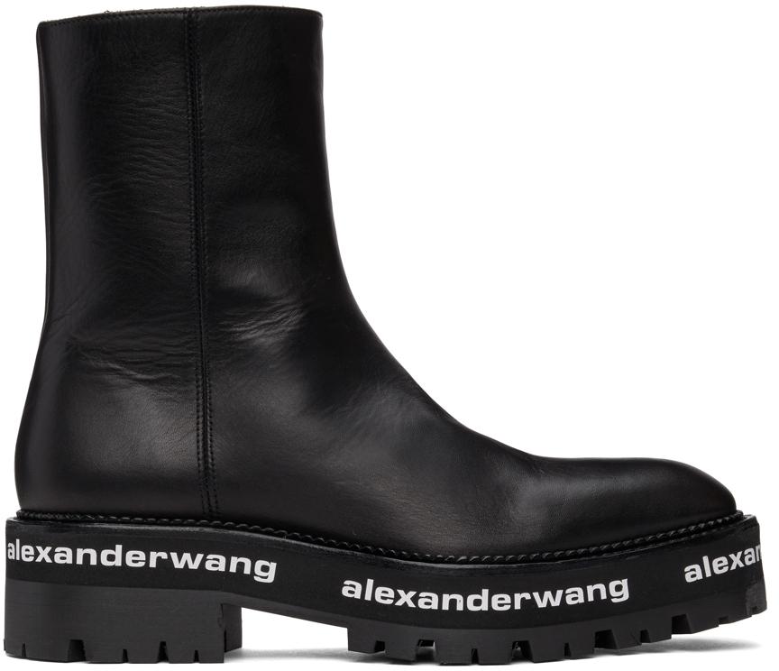 Alexander Wang Black Stanford Boots