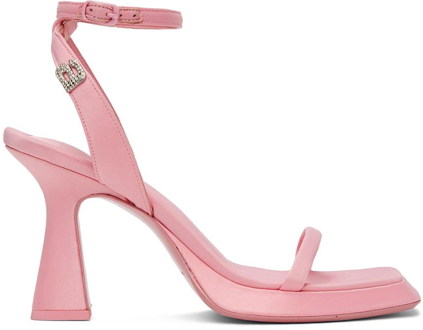 Alexander Wang Pink Shannan Heeled Sandals