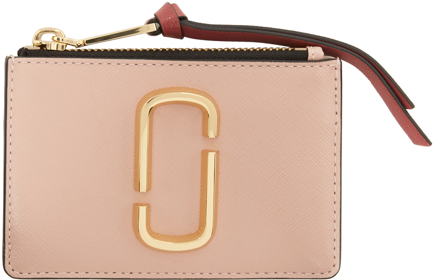 Pink 'The Snapshot' Top-Zip Card Holder
