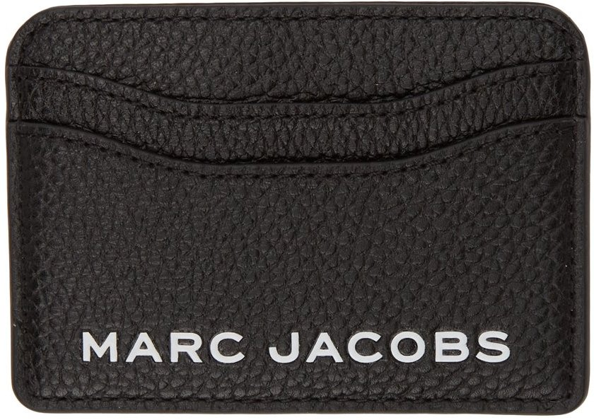 Black 'The Bold' Card Holder