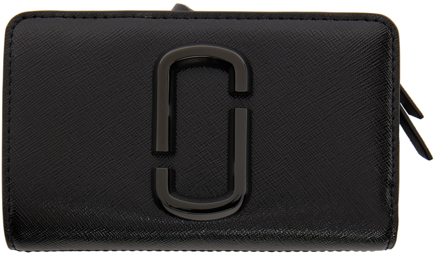 Black 'The Snapshot Compact' Wallet