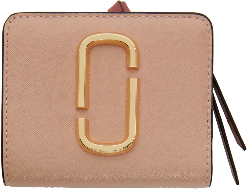 Pink & Yellow Mini 'The Snapshot Compact' Wallet