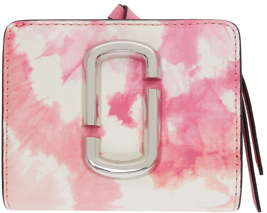 Pink & White Mini 'The Snapshot' Compact Wallet