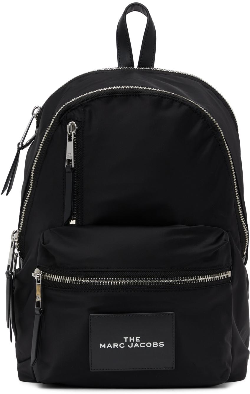 Black 'The Zipper' Backpack