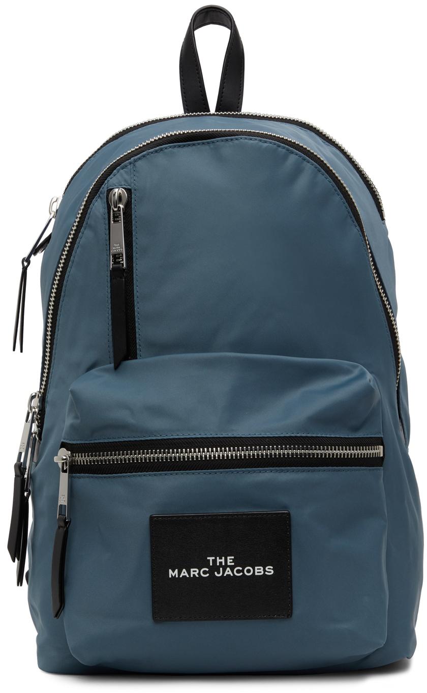 Blue 'The Zipper' Backpack