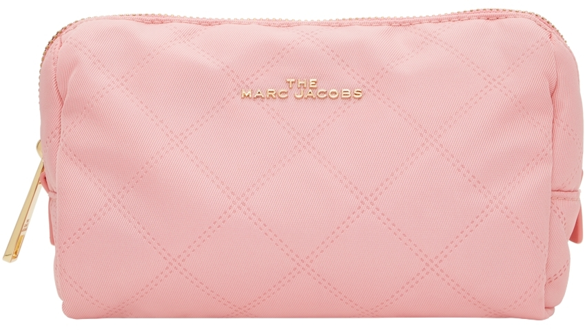 Pink 'The Beauty Triangle' Pouch