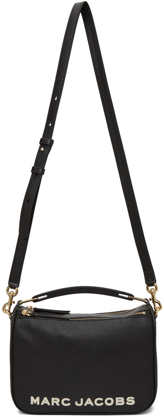 Black 'The Softbox 23' Top Handle Bag