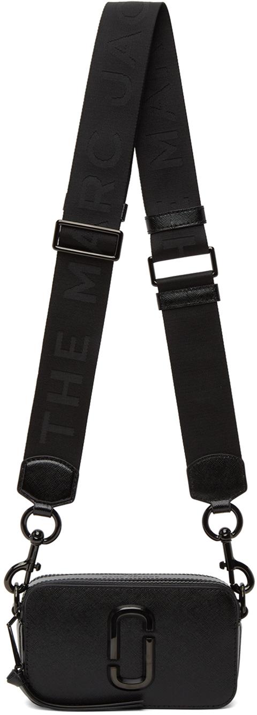 Black 'The Logo Strap Snapshot' Bag